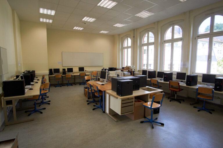 Einer der beiden Informatik Räume